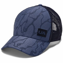 Kšiltovka Under Armour Men's Blitzing Trucker 3.0 - Blue Ink