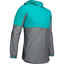 Pánská bunda Under Armour Vanish Hybrid Jacket - Teal Rush