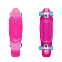 "Penny board Big Fish 27"" - pink/white/blue"