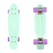 "Penny board Fish Classic 22"" - Green-Pink-Purple"