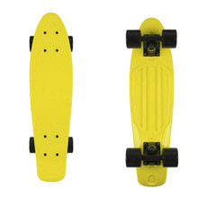 "Penny board Fish Classic 22"" - yellow/black/black"