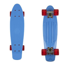 "Penny board Fish Classic 22"" - Blue-Silver-Red"