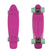 "Penny board Fish Classic 22"" - Magenta-Silver-Summer Green"