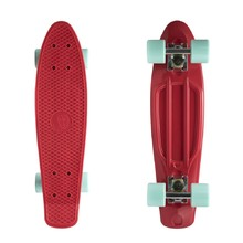 "Penny board Fish Classic 22"" - Red-Silver-Summer Green"