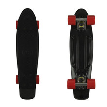 "Penny board Fish Classic 22"" - black/silver/red"
