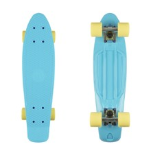 "Penny board Fish Classic 22"" - Summer Blue-Silver-Summer Yellow"