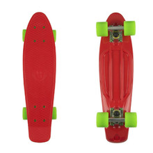 "Penny board Fish Classic 22"" - red/silver/green"