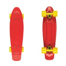 "Penny board Fish Classic 22"" - red/yellow"