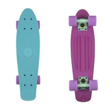 "Penny board Fish Classic 2Colors 22"" - purple/green/summer purple"