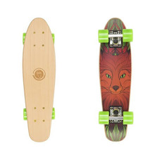 "Dřevený penny board Fish Classic Wood 22"" - Red Fox"