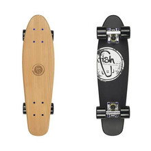 "Dřevený penny board Fish Classic Wood 22"" - Logo Black"