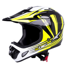Downhill přilba W-TEC FS-605 Allride - Yellow Graphic