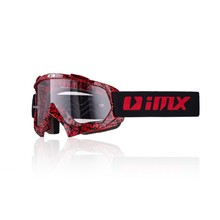 Motokrosové brýle iMX Mud Graphic - Red-Black