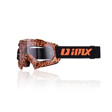 Motokrosové brýle iMX Mud Graphic - Orange-Black