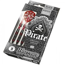 Terč na šipky Harrows Pirate Soft 18g K Red 3ks