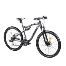 "Celoodpružené kolo DHS Terrana 2745 27,5"" - model 2017 - Gray-Black-Green"