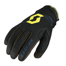 Moto rukavice SCOTT 350 Insulated MXVII - Black-Lime Green