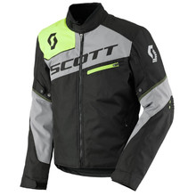 Moto bunda SCOTT Sport Pro DP MXVII - Black-Light Grey