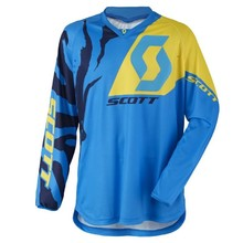 Motokrosový dres SCOTT 350 Race MXVII - Blue-Yellow