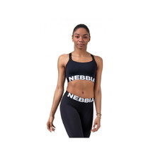 Dámský mini top Nebbia Lift Hero Sports 515 - Black