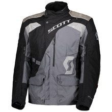 Moto bunda SCOTT Dualraid Dryo - black/iron grey