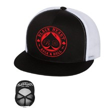 Kšiltovka BLACK HEART Ace Of Spades Trucker - bílá