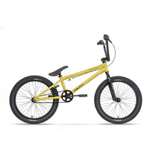 "BMX kolo Galaxy Early Bird 20"" - model 2019 - žlutá"