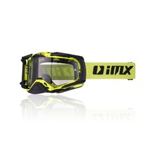 Motokrosové brýle iMX Dust Graphic - Fluo Yellow-Black Matt