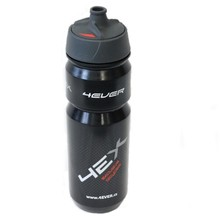 Cyklo láhev 4EVER Black Red Cap 0,8 l