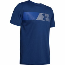 Pánské triko Under Armour Fast Left Chest 2.0 SS - American Blue