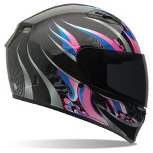 Moto přilba BELL Qualifier Coalition Black/Pink
