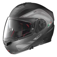 Moto helma Nolan N104 Absolute Tech N-Com - Flat Black