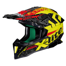 Enduro přilba X-lite X-502 Nac-Nac LED Yellow