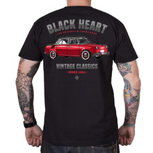 Triko BLACK HEART MB