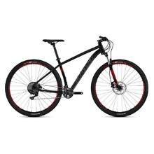 "Horské kolo Ghost Kato 9.9 AL U 29"" - model 2019 - Night Black / Titanium Grey / Riot Red"
