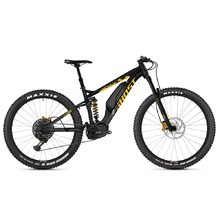 "Celoodpružené elektrokolo Ghost Hybride SL AMR S3.7+ AL 29"" - model 2019 - Night Black / Spectra Yellow / Iridium Silver"