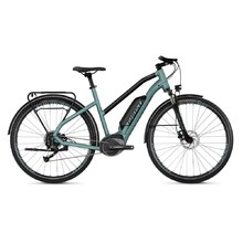"Dámské trekingové elektrokolo Ghost Square Trekking B1.8 Ladies 28"" - model 2019 - River Blue / Jet Black"