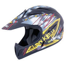 Freeride helma W-TEC 3ride - Black Fanky