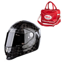 Helma na moto Bell M6 Carbon Square Solid Matte