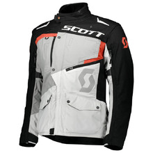 Moto bunda SCOTT Dualraid DP - Titanium Grey/Orange