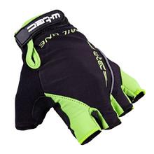 Cyklo rukavice W-TEC Kauzality AMC-1043-18 - černo-zelená 5688fba622