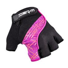 b8b2426ae2 Cyklo rukavice W-TEC Karolea AMC-1022-18 - černo-růžová