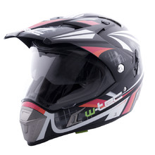 Moto přilba W-TEC NK-311 - Cube Black Orange