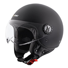 Helma na moped W-TEC FS-701SB Solid Black