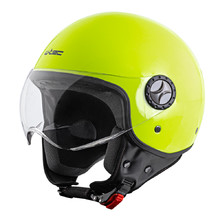 Helma na moped W-TEC FS-701FY Fluo Yellow