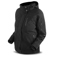 Bunda Trimm SWITCH softshell - šedý déšť