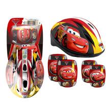 89b9629c75f Disney Cars sada helma + chrániče pro děti