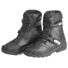 Moto boty KORE Adventure Mid - černá d45107f26a