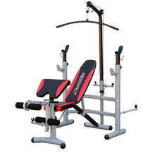 Bench press lavice inSPORTline Bastet + závaží + hřídel