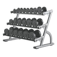 Stojan na činky Life Fitness Optima 3-Tier Dumbbell Rack